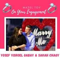Engagement Of Yosef Yisroel Gabay & Sarah Chagy! #onlysimchas
