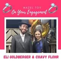 Engagement Of Eli Goldberger {Monroe} & Chavy Flohr {Monroe} #onlysimchas