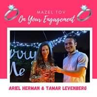 Engagement Of Ariel Herman & Tamar Levenberg! #Onlysimchas