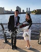 Engagement ofJoel Smith (Manchester) and Tzippy Kay (Manchester)! #onlysimchss