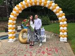 Engagement of Rachel Mendelson (highland park New Jersey) and Judah Lyons (Livingston New Jersey) #onlysimchas