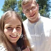 Engagement of Mattania Goldhaber & Naomi Malch! #onlysimchas