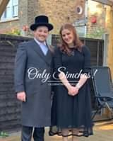Engagement of Feigy Ostreicher to Usi Luftig (London) #onlysimchas