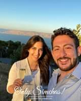 Engagement of Jacob Ben Pesach (Toronto) and Mor Gedalia (Los Angeles) #onlysimchas