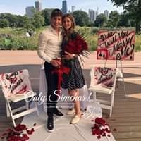 Engagement of Aaron Trachtman & aliza feuer! #onlysimchas