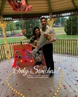 Engagment of Yosef Chafizov amd Rebecca Natanov! #onlysimchas