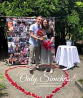 Engagement of Ben Gurvitch from (Boynton Beach, Florida) and Malka Iskowitz (New Milford, New Jersey) #onlysimchas