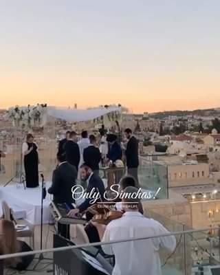 Beautiful Wedding at the Kotel! ???????? #onlysimchas