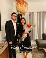 Engagement of Adele Dahan to Eliahou Garcon! #onlysimchas