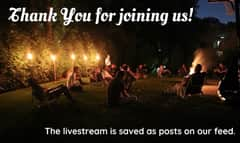 Thank you for joining us we hope everyone enjoyed! The live stream is posted as posts on our feed. Have an easy and meaningful fast! ???????? #onlysimchas