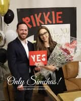 Engagement of Menashe Dembitzer to Rikkie Isreal! 🥳 #onlysimchas