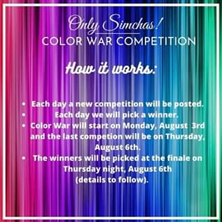 ONLYSIMCHAS COLOR WAR!!! 🥳 HOW IT WORKS: 👇🏻