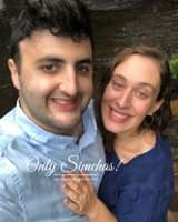 Engagement of Esther schorr and noah Epstein (Teaneck, New Jersey) #onlysimchas