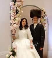 Wedding of אלכסנדר שמחה אין אסתר חי' שטערנבערג! #onlysimchas