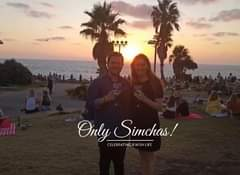 Engagement of Kaylee Lazarus and Kovi Fine (Israel) #onlysimchas