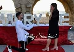 Engagement of Yinon Gabay & Tohar Cohen! #onlysimchas