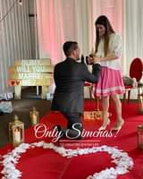 Engagement of Ari weiss to blimy! #onlysimchas