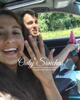 Engagement of Gabi Chutter (New York) and Raphael Alcoves (Seattle) #onlysimchas