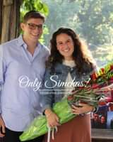 Engagement of Ari Goldstein and Sarah Cromwell! #onlysimchas