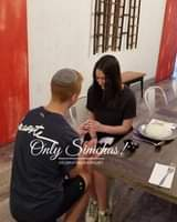Engagement of Dahlia Cohen and Azi Genachowski! #onlysimchas