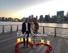 Engagement of Ariel Murdakhaev and Elizabeth Katanova! #onlysimchas