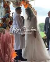 Wedding of Daniel Lasko (Hollywood, Florida) and Emma Harris (Boca Raton, Florida) #onlysimchas