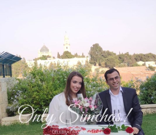 Engagement of Yossef Sergovits&Nechama Kobra! #onlysimchas #spreadingsimchas #shesaidyes #engagment #onlysimchaslovessimchas