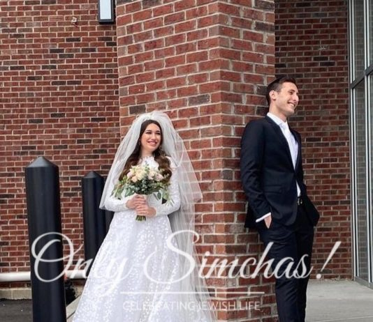 Wedding of Rebecca and Daniel Nimchinsky! #onlysimchas